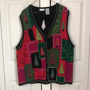 Christmas vest. 22W great condition.